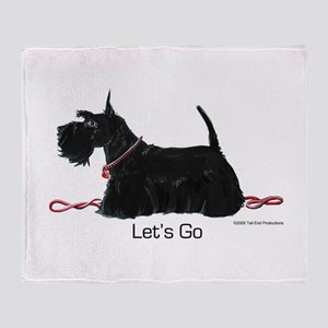 Scottie Let's Go! Throw Blanket